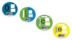 La DGT clasificará los coches en función de la contaminación con etiquetas de colores - http://www.actualidadmotor.com/etiquetas-medioambientales-de-colores-de-la-dgt-que-son/