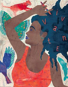 Illustration féministe, Affiche féministe, Affiche femme, Femme noire  Black woman illustration, Feminist illustration