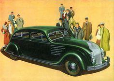 1934 Chrysler Airflow Eight Six Passenger Brougham   Flickr - Photo Sharing!