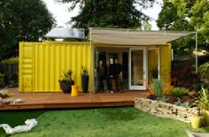 Cargotecture is a website for HyBrid Architecture.  A commercial site with a lot of interesting information.