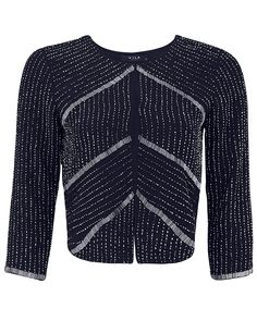 Navy Brisda Sequin Jacket - Atterley Road #ARWishlist