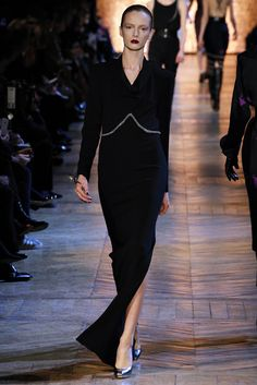 Saint Laurent Fall 2012 Ready-to-Wear Fashion Show - Daria Strokous (Women)