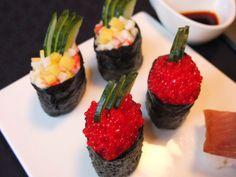 Sushi: distintos tipos de preparacion en español