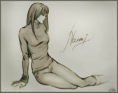 Naomi... by Annonyma on DeviantArt. She's so beautiful...