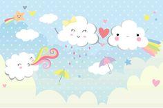 Resultado de imagem para painel festa chuva de amor