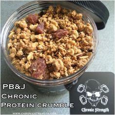 *NEW* PB & J Chronic Protein Crumble