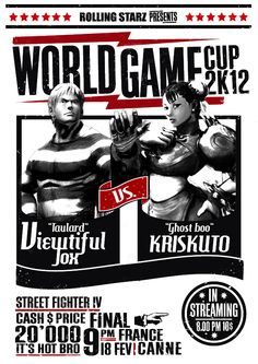 World Game Cup 2012, professional fighting game event.