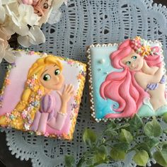 Rapunzel & Ariel More