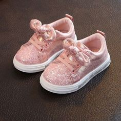OEAK Children Four Season Shoes Years Toddler Baby Girls Bow Sequin Crib Shoe Trend Casual Shoes Glitter Bowknot Dress Shoe Brand Name:Gender:Age Range:Age Girls Bows, Baby Girls, Lit Shoes, Glitter Shoes, Girls Sandals, Kids Sneakers, Childrens Shoes, Casual Shoes
