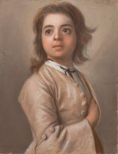 Study of a boy by Jean Etienne Liotard