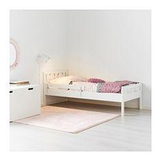 IKEA - KRITTER, Bedframe met lattenbodem, , De zijsteun verhindert dat het kind uit bed kan vallen.De lattenbodem geeft een goede luchtcirculatie.