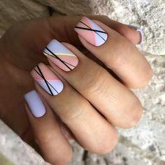 Colored Acrylic Nails, Summer Acrylic Nails, Cute Acrylic Nails, Gel Nail Art, Cute Nails, Perfect Nails, Gorgeous Nails, Nail Polish Style, Aycrlic Nails