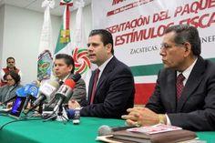 """Presentan paquete de  estímulos fiscales:  """"condonan"""" tenencia"""