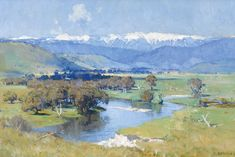 Arthur Streetson's The Murray and the Mountain, 1930