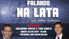 "Às 19h30 seremos entrevistados pelo jornalista Odir Ribeiro, no programa ""Na Lata"", que será transmitido ao vivo pelo link:   facebook..."