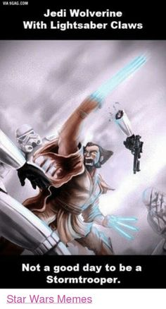 Darth Vader would shit his pants if he encountered him