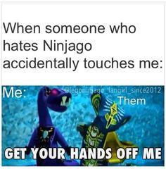 Get your ninja hating hands off me