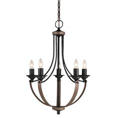 Angelica 5-Light Mini Candle-Style Chandelier