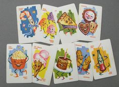 Dandy Candy, FUN Vintage Playing Cards- Set of 9