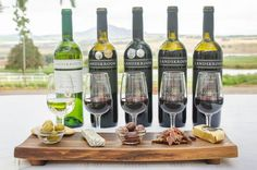 New to our Estate is our Food & Wine Pairings! 5 Paul's #Food&WinePairing: 5 Paul de Villiers wines paired with #cheese #olives #biltong R125 pp