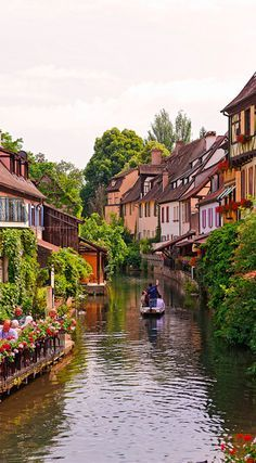 """Tourists know Colmar (France) as the capital of Alsatian wine, an ultra-classy white variety. They also know Colmar for its quaint canals. Long ago, the canals in Colmar's """"Little Venice"""" were buzzing with butchers, fishmongers and tanners."""