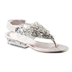 Prada Thong Sandals with Crystals $1,150