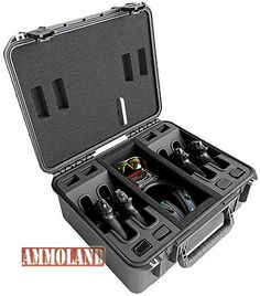 CaseCruzer Universal Shooting Range 4 Pack Handgun Case Hits the Mark with Sportsmen - http://www.theghilliesuitoutlet.com/casecruzer-universal-shooting-range-4-pack-handgun-case-hits-the-mark-with-sportsmen -  http://www.ammoland.com/wp-content/uploads/2014/02/CaseCruzer-Universal-4-Pack-Handgun-Case.jpg