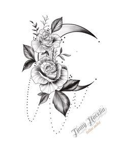 Foot Tattoos, Forearm Tattoos, Body Art Tattoos, Tattoo Drawings, Small Tattoos, Sleeve Tattoos, Moon Tattoo Designs, Small Tattoo Designs, Flower Tattoo Designs
