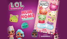 Toys R Us will be hosting a FREE L.L Surprise and Num Noms Trading Event on October 21 from Pack up your L.L Surprise! Toys R Us, Free Baby Samples, Jumping For Joy, Disney Infinity, Birthday Tutu, Free Baby Stuff, Jelly Beans, Lol, Christmas Ornaments