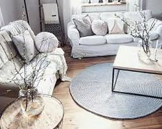 Image result for use a round rug in a living room