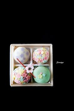 One of the Japanese traditional confectionery, nerikiri Japanese Wagashi, Japanese Cake, Japanese Sweets, Japanese Food, Cute Desserts, Asian Desserts, Desserts Japonais, Japon Tokyo, Tea Ceremony