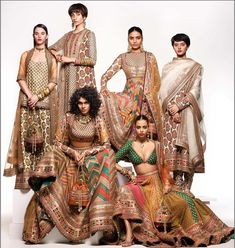 Sabyasachi Summer Collection 2020 Is Finally Here To Blow Your Minds! The Sabyasachi Summer Collection 2020 Is Here And You Need To Bookmark Your Outfits Now. For more such Sabyasachi inspirations, stay tuned. Sabyasachi Dresses, Sabyasachi Bride, Lehenga Choli, Anarkali, Sari, Indian Attire, Indian Wear, African Attire, African Dress