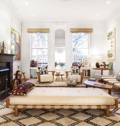 Brooklyn Heights Interior by AphroChic