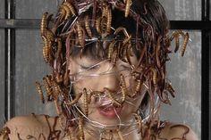 Scary Movies, Horror Movies, Im Losing My Mind, Aesthetic People, Fb Covers, Aesthetic Makeup, Sick, Dreadlocks, Hair Styles