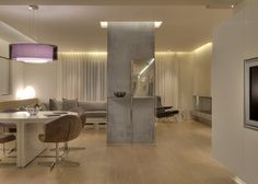 APARTMENT IN P.FALIRO  Living room Architecture Design, Divider, House Design, Living Room, Furniture, Home Decor, Architecture Layout, Decoration Home, Room Decor