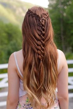 Lovely Hair with Mermaid Braids picture 2