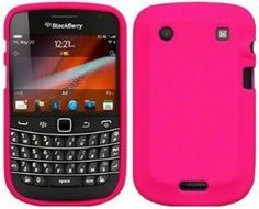 BlackBerry 9900 Bold Touch Silicone Skin Case - Hot Pink
