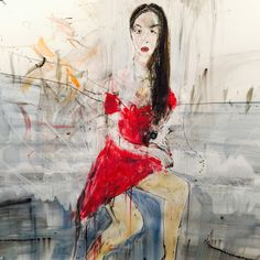 Art: A painting a day in Brooklyn with Michael Hafftka, American painter. The Portrait of Rushka Bergman  @hafftka  #master  #greatest #art #metmuseum #watercolor #michaelhafftka #rushkabergman #biglove