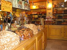 Candy and cookie store Uzes.
