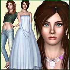 Harriet Lopell female model by Amis - Sims 3 Downloads CC Caboodle