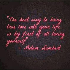 Quote by Adam Lambert