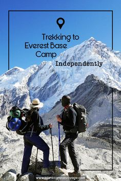 No Guides, no Porters! YES, Trekking to Everest Base Camp Independently is possible. What an adventure!! We are not going to sugar-coat our trek....it was a challenge but a very rewarding one!