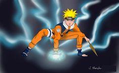 Naruto Shippuden, espero que gostem como desenhei o personagem.