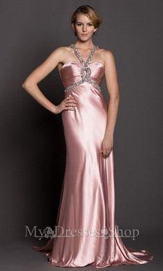 Sexy Halter Long Prom Dresses MDSP010 2013 via http://www.mydressesshop.com/#