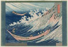 葛飾北斎 Katsushika hokusai_千絵の海 総州銚子 Chôshi in Shimôsa Province