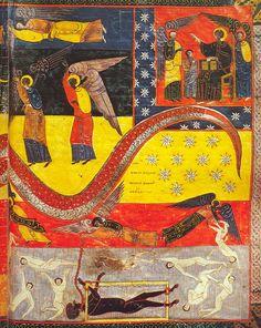 Beatus Facundus. Illuminated Manuscript. 10th Century.