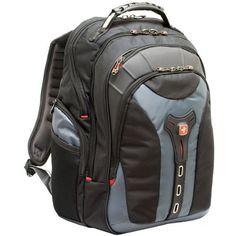 "SwissGear Genuine 17"" Gray Notebook Backpack $114"