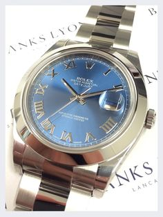 50485a9e354 Rolex Stainless Steel Oyster Perpetual DateJust II Watch Rolex Sale