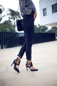 winston & willow - those heels!