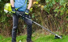 Ryobi Petrol Strimmer Grass Cutter, Hedges, Outdoor Power Equipment, Lawn Edger, Living Fence, Shrubs, Garden Tools, Natural Privacy Fences
